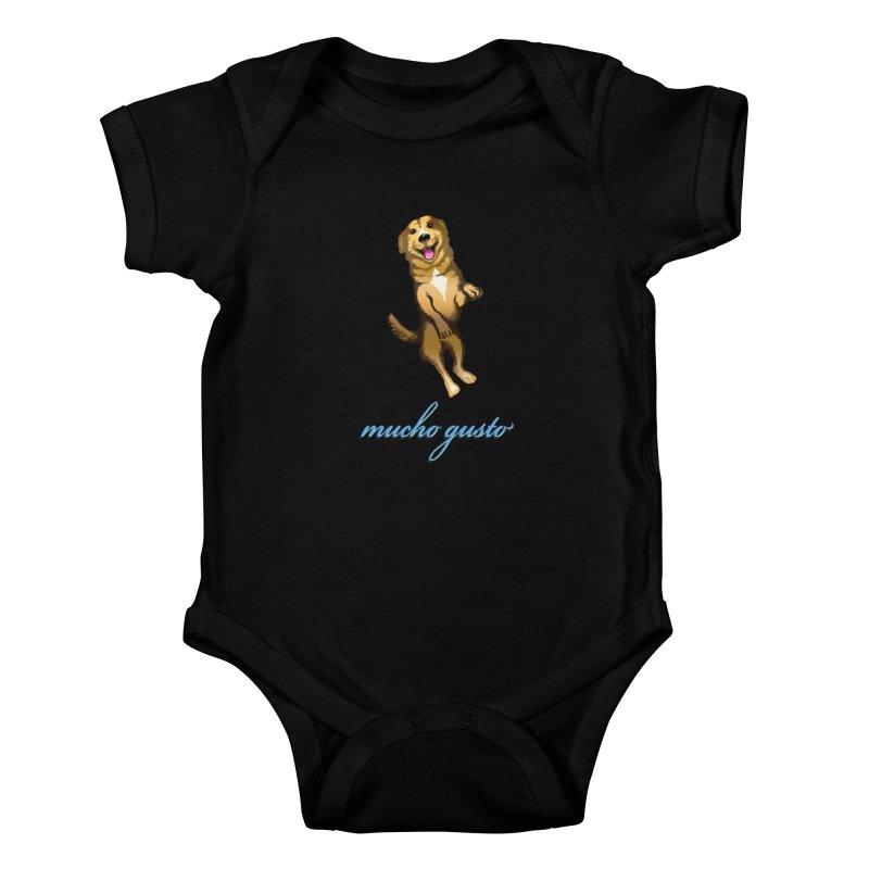 Mucho Gusto Kids Baby Bodysuit by truthpup's Artist Shop