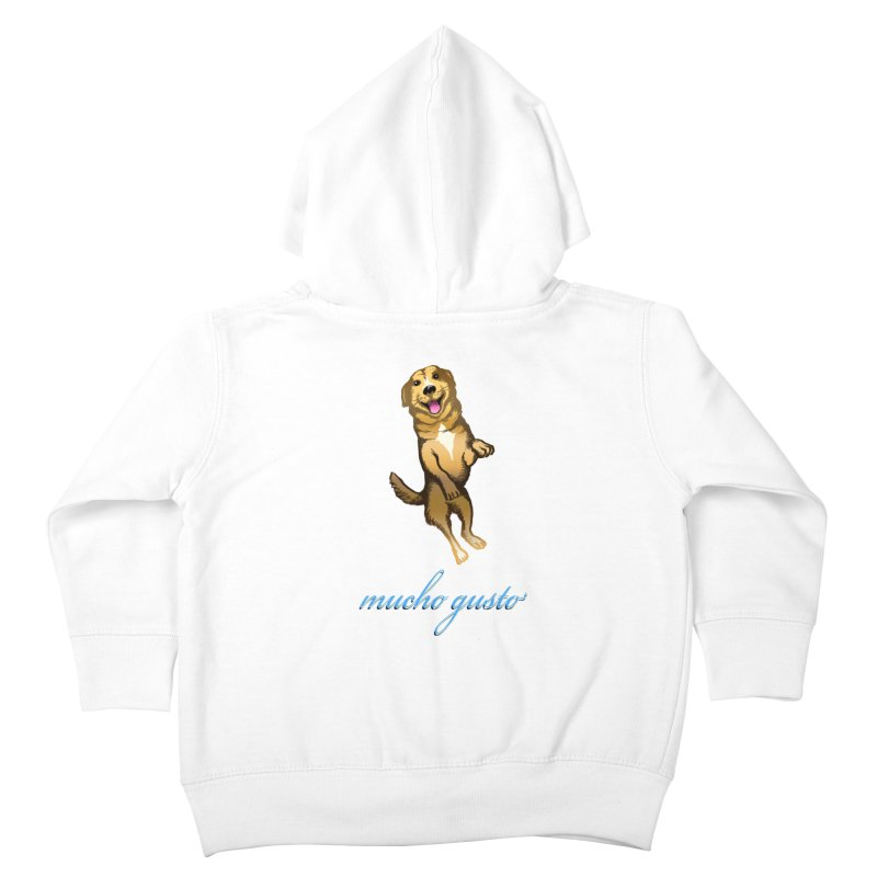 Mucho Gusto Kids Toddler Zip-Up Hoody by truthpup's Artist Shop