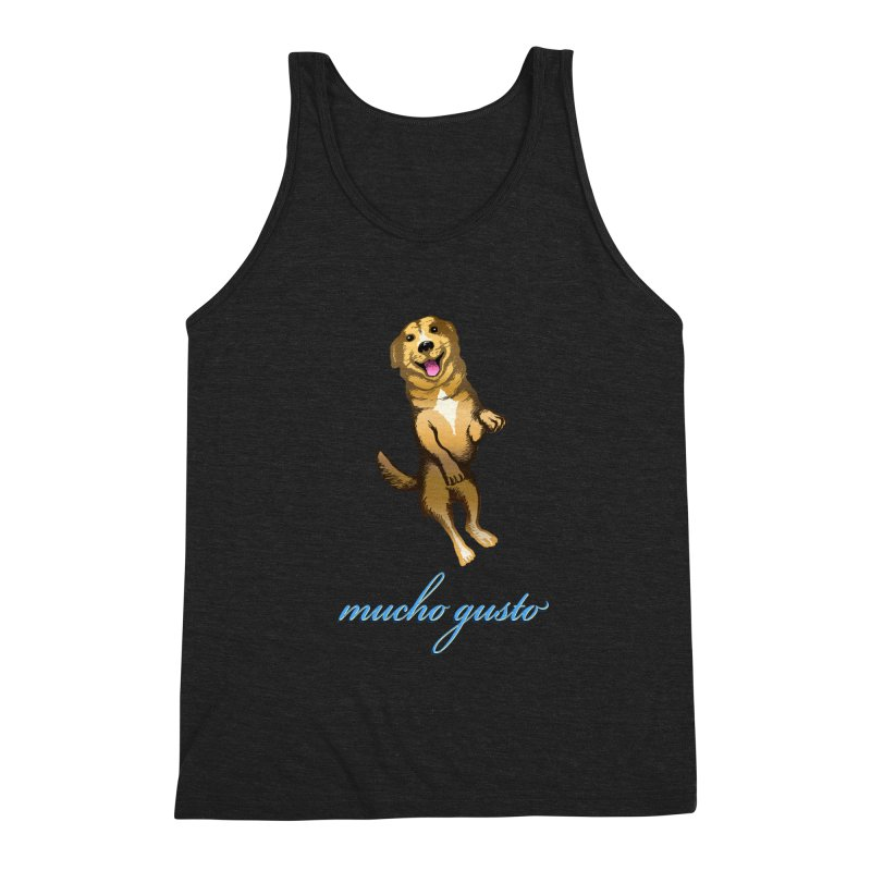 Mucho Gusto Men's Triblend Tank by truthpup's Artist Shop