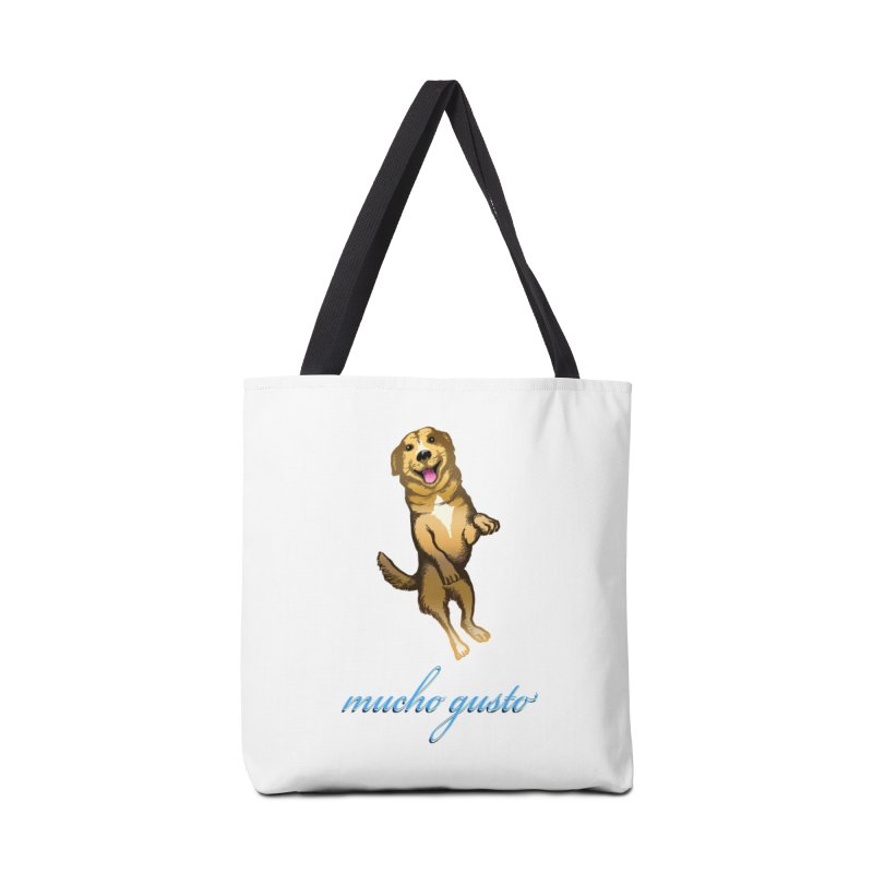 Mucho Gusto Accessories Bag by truthpup's Artist Shop