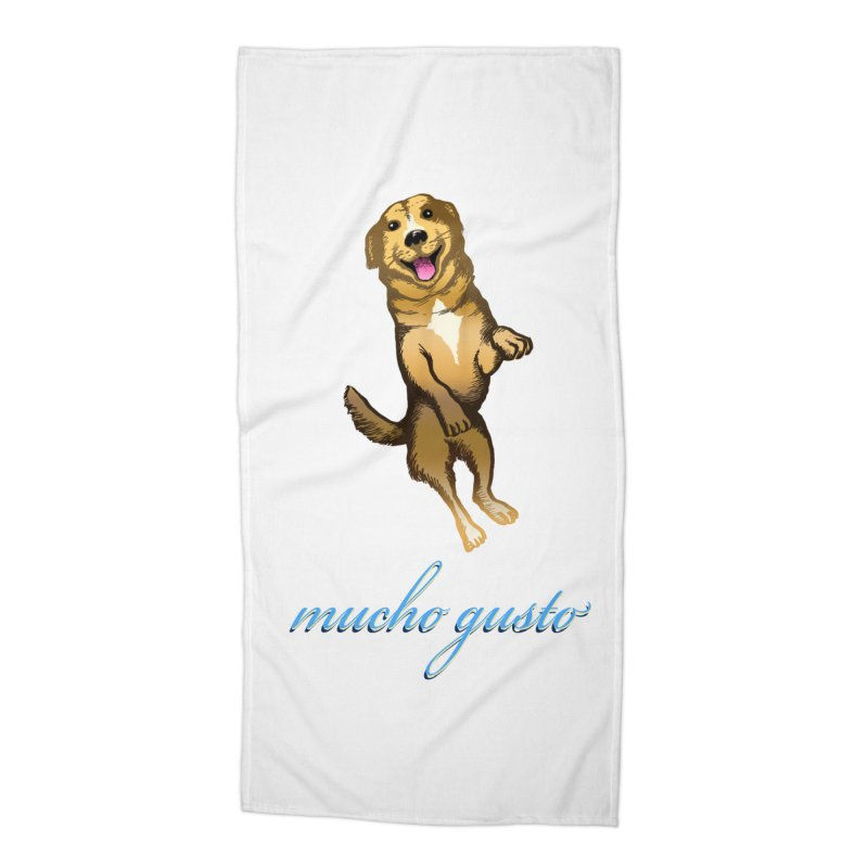 Mucho Gusto Accessories Beach Towel by truthpup's Artist Shop