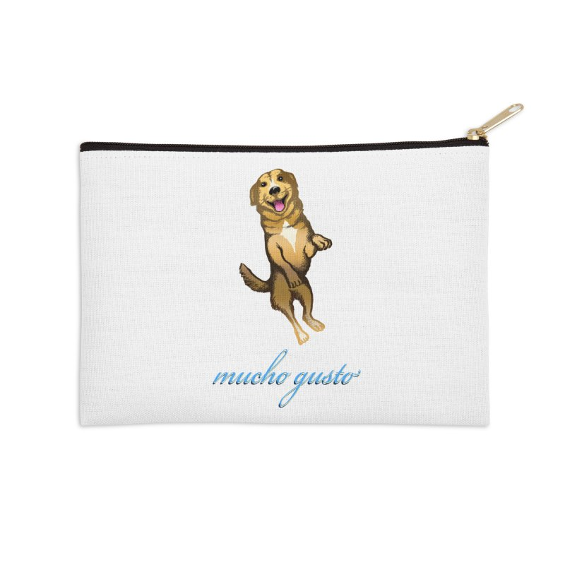 Mucho Gusto Accessories Zip Pouch by truthpup's Artist Shop