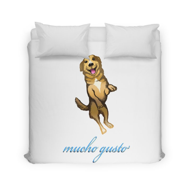 Mucho Gusto Home Duvet by truthpup's Artist Shop