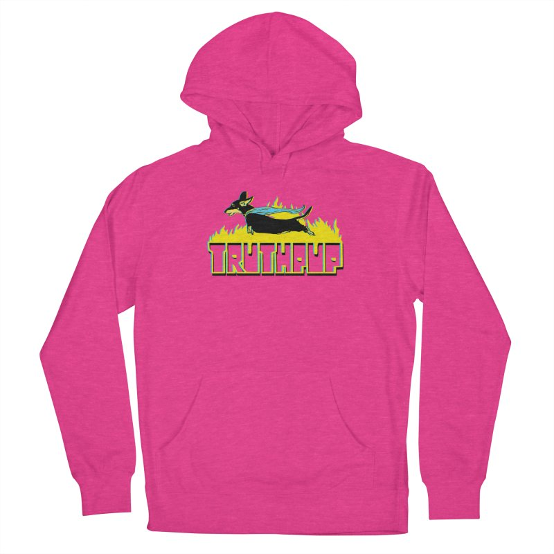 Truthpup Men's French Terry Pullover Hoody by truthpup's Artist Shop