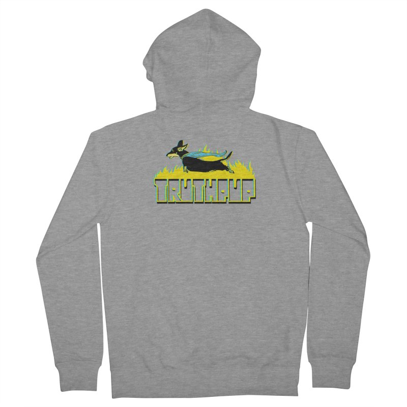 Truthpup Women's French Terry Zip-Up Hoody by truthpup's Artist Shop