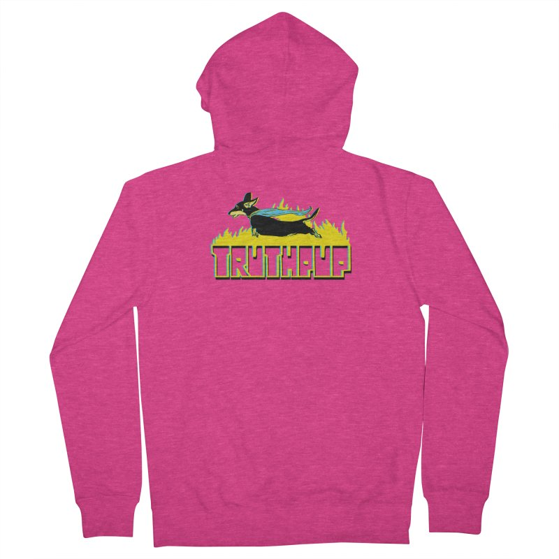Truthpup Women's Zip-Up Hoody by truthpup's Artist Shop