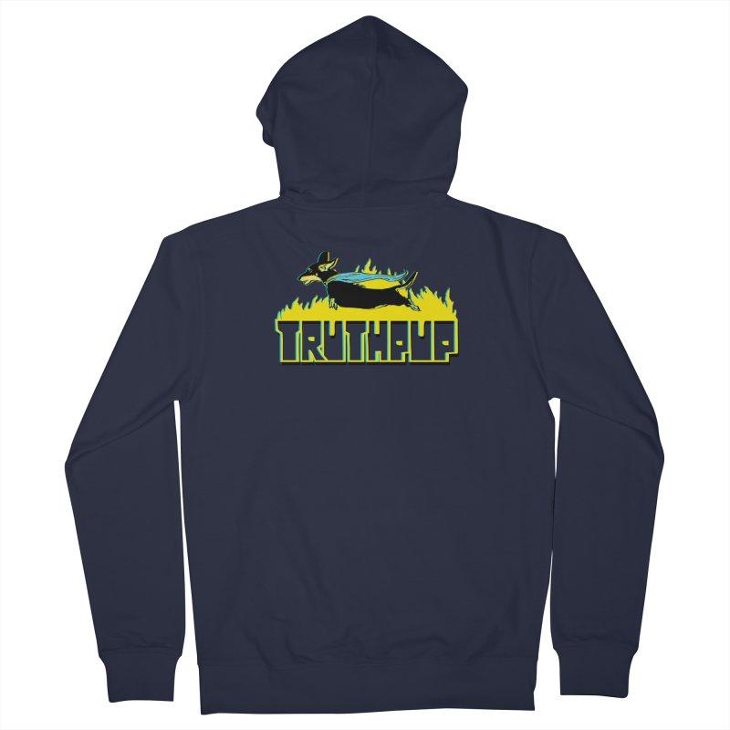Truthpup Men's Zip-Up Hoody by truthpup's Artist Shop