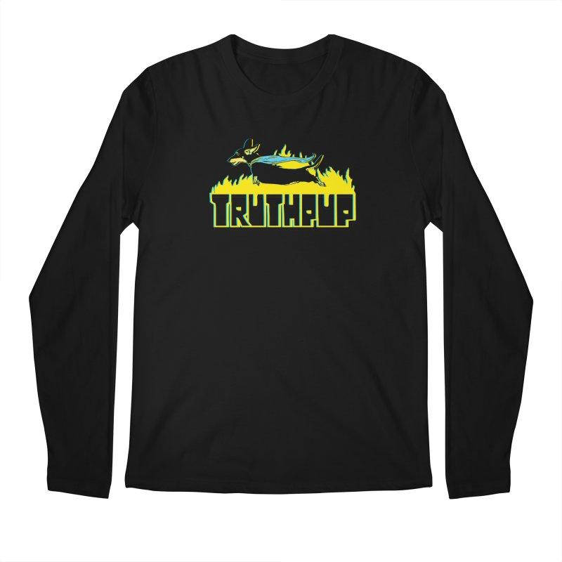 Truthpup Men's Regular Longsleeve T-Shirt by truthpup's Artist Shop