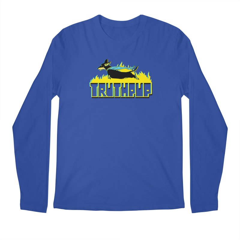 Truthpup Men's Regular Longsleeve T-Shirt by truthpup's Artist Shop