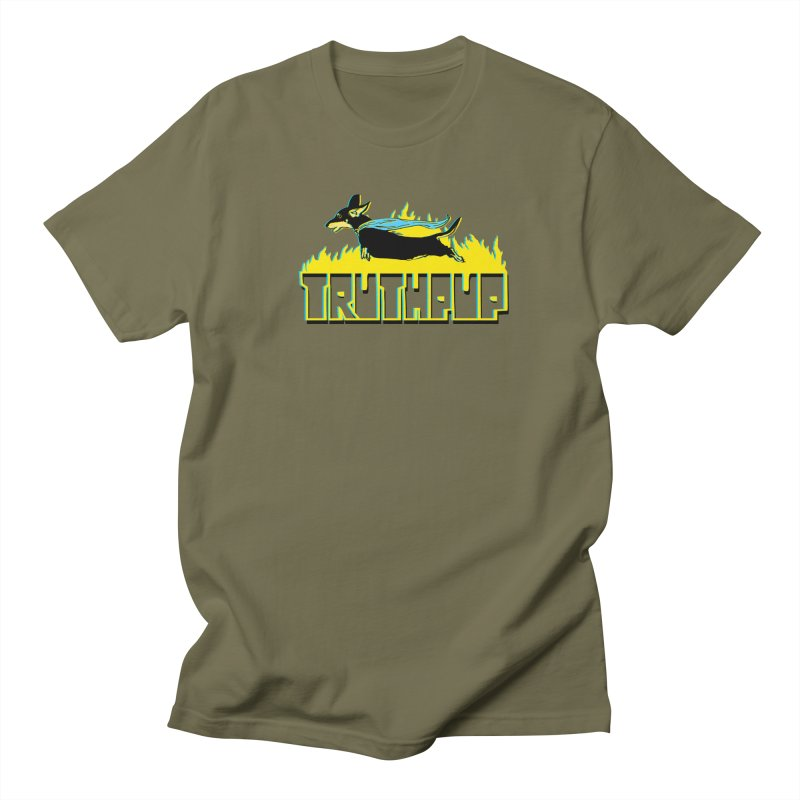 Truthpup Men's Regular T-Shirt by truthpup's Artist Shop