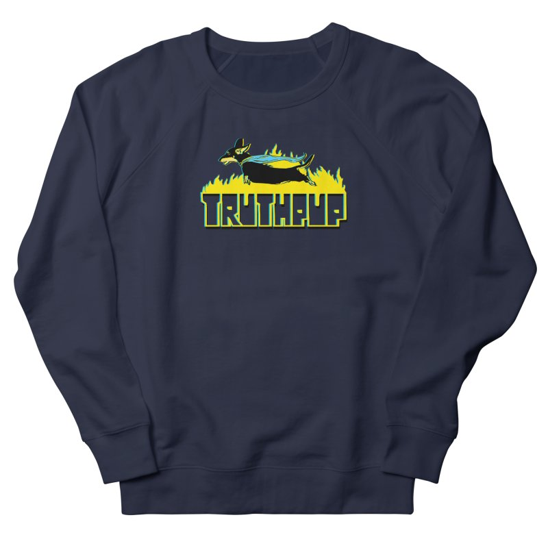 Truthpup Women's French Terry Sweatshirt by truthpup's Artist Shop