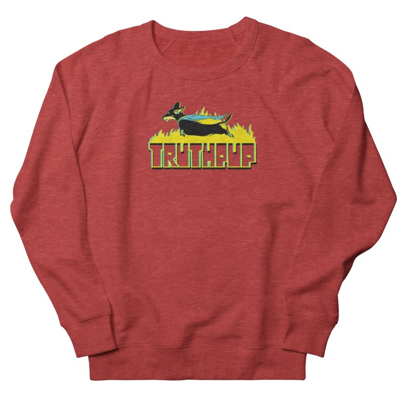 Truthpup Men's French Terry Sweatshirt by truthpup's Artist Shop