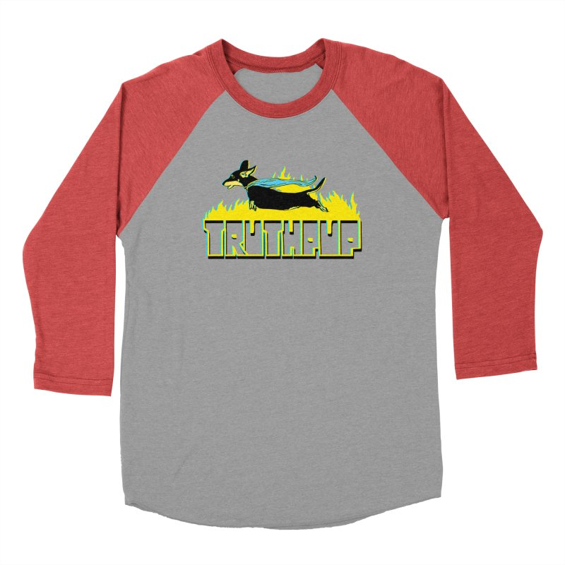 Truthpup Men's Baseball Triblend T-Shirt by truthpup's Artist Shop