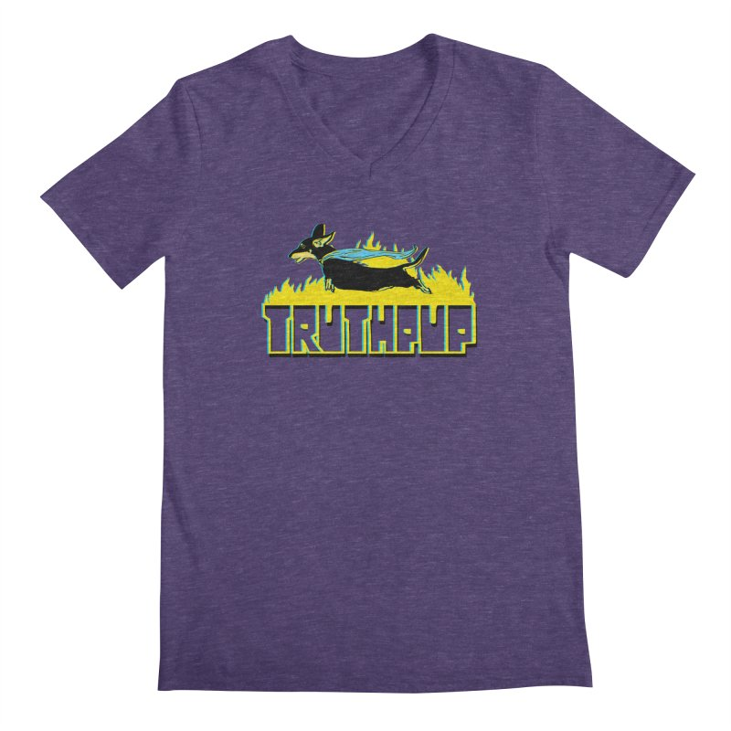 Truthpup Men's V-Neck by truthpup's Artist Shop