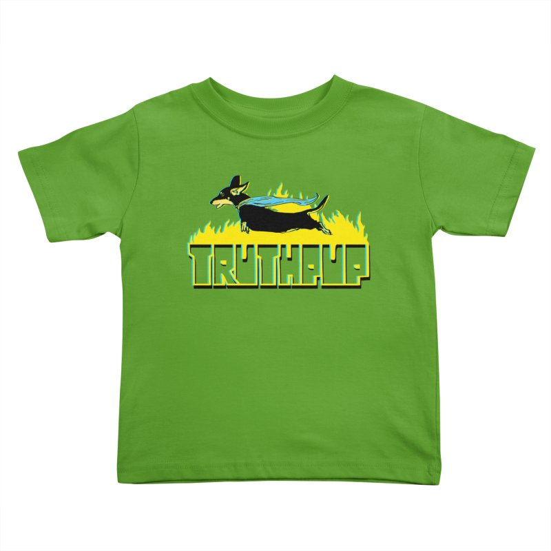 Truthpup Kids Toddler T-Shirt by truthpup's Artist Shop