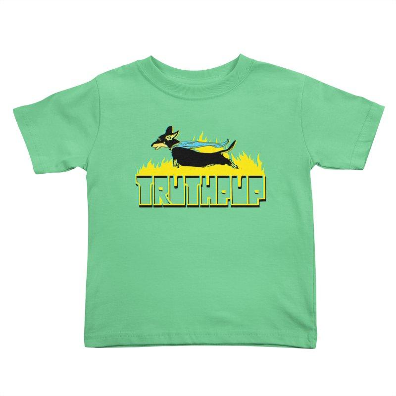 Truthpup Kids Toddler T-Shirt by truthpup's Artist Shop