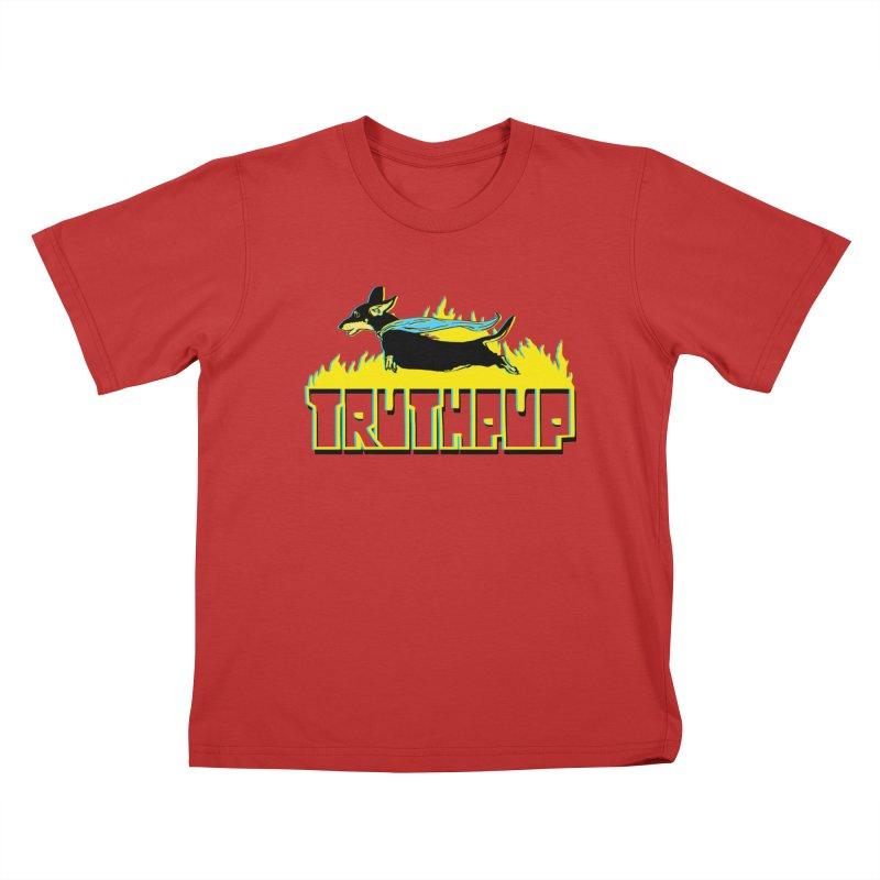 Truthpup Kids T-Shirt by truthpup's Artist Shop