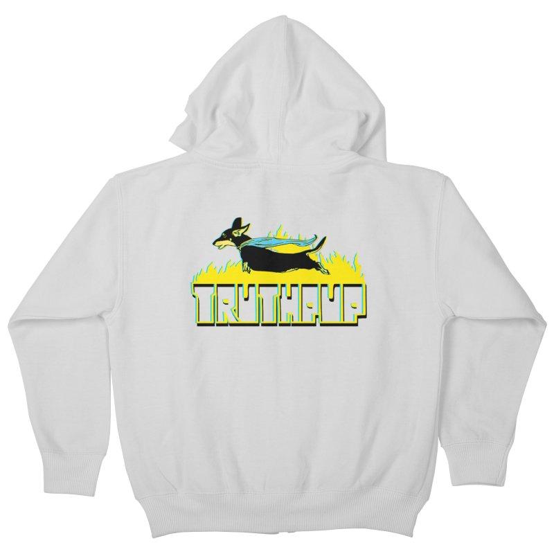 Truthpup Kids Zip-Up Hoody by truthpup's Artist Shop