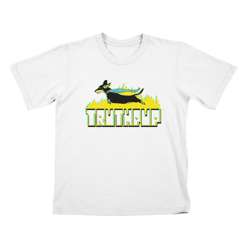 Truthpup Kids T-Shirt by truthpup's Artist Shop
