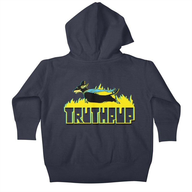 Truthpup Kids Baby Zip-Up Hoody by truthpup's Artist Shop