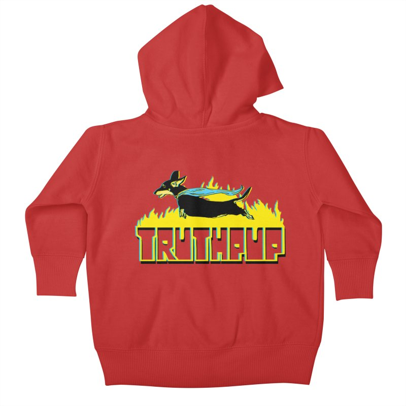 Truthpup Kids Baby Zip-Up Hoody by truthpup's Artist Shop