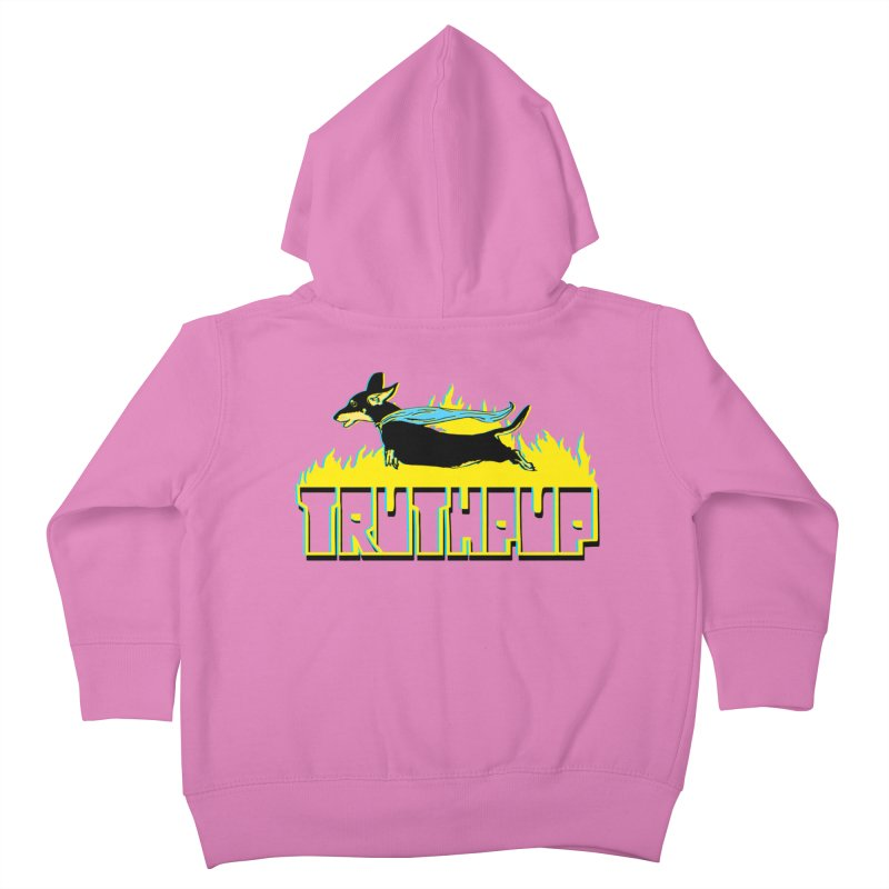 Truthpup Kids Toddler Zip-Up Hoody by truthpup's Artist Shop