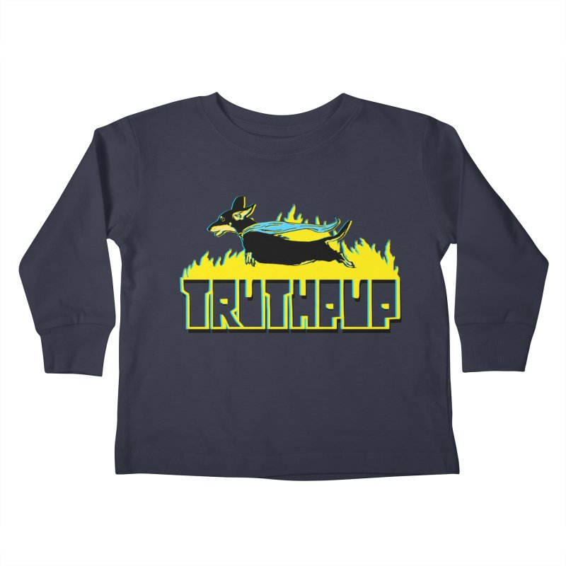 Truthpup Kids Toddler Longsleeve T-Shirt by truthpup's Artist Shop
