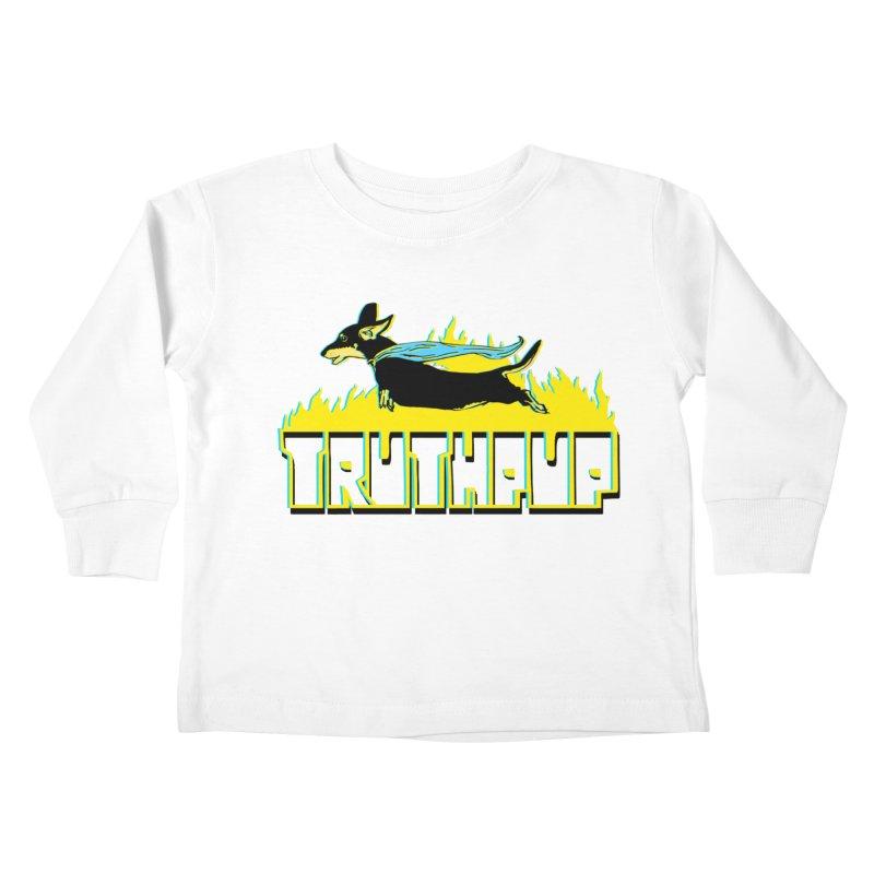 Truthpup Kids Toddler Longsleeve T-Shirt by truthpup's Artist Shop
