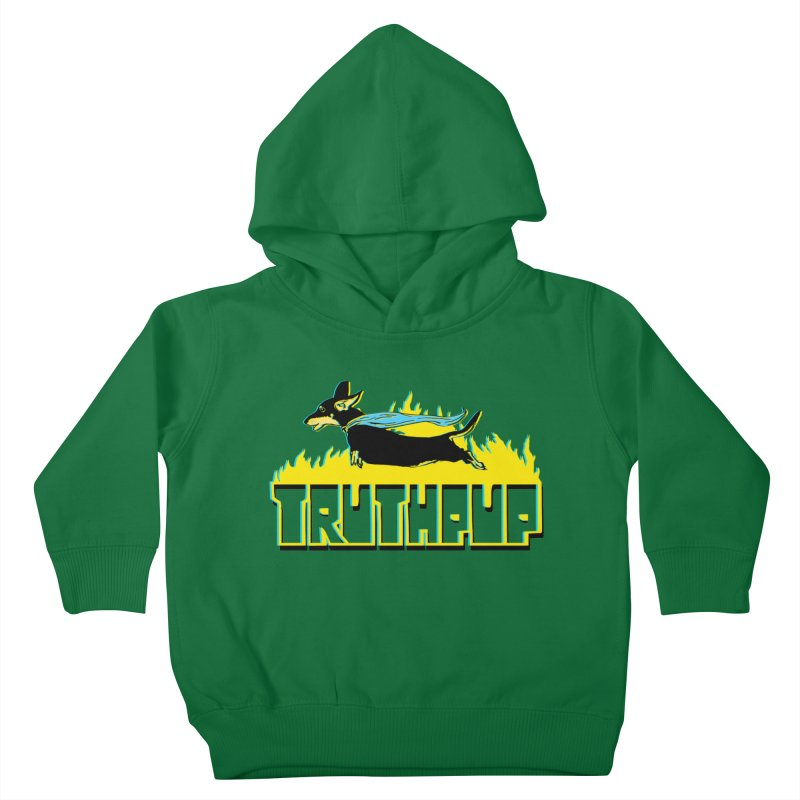 Truthpup Kids Toddler Pullover Hoody by truthpup's Artist Shop