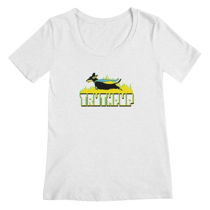 Truthpup Women's Regular Scoop Neck by truthpup's Artist Shop