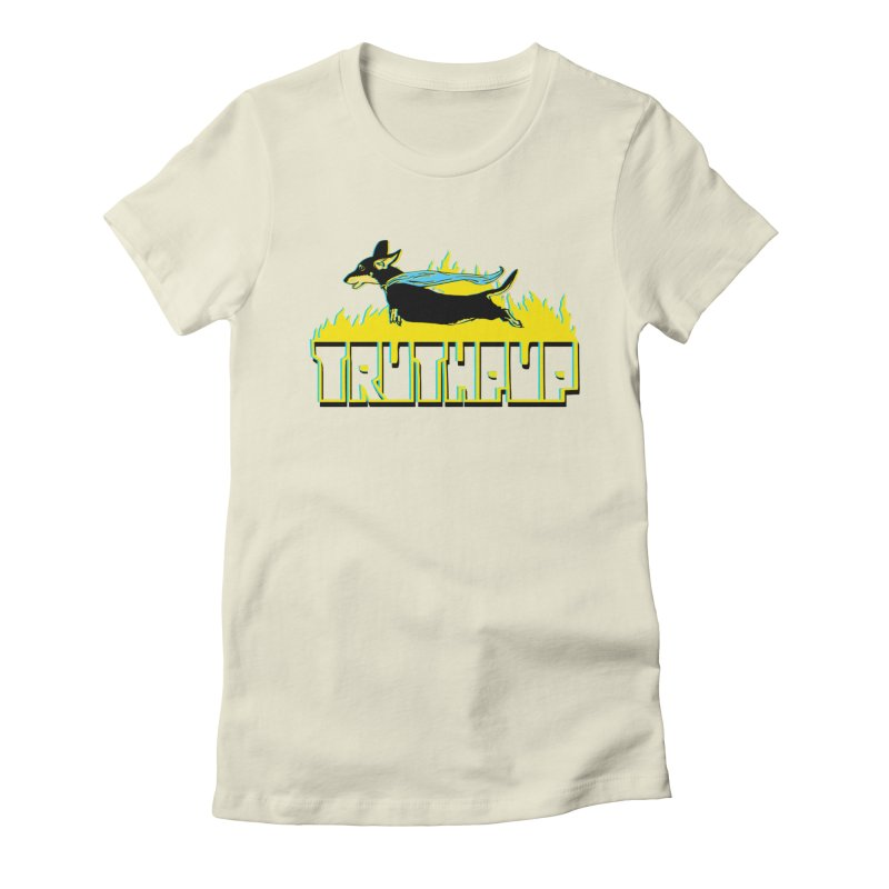 Truthpup Women's Fitted T-Shirt by truthpup's Artist Shop