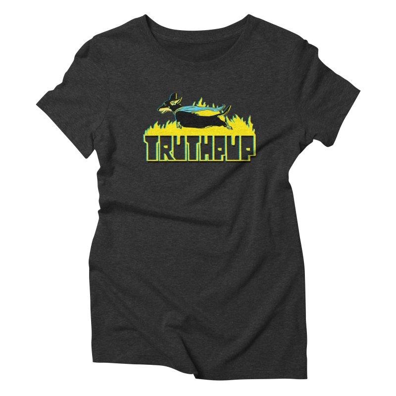 Truthpup Women's Triblend T-Shirt by truthpup's Artist Shop