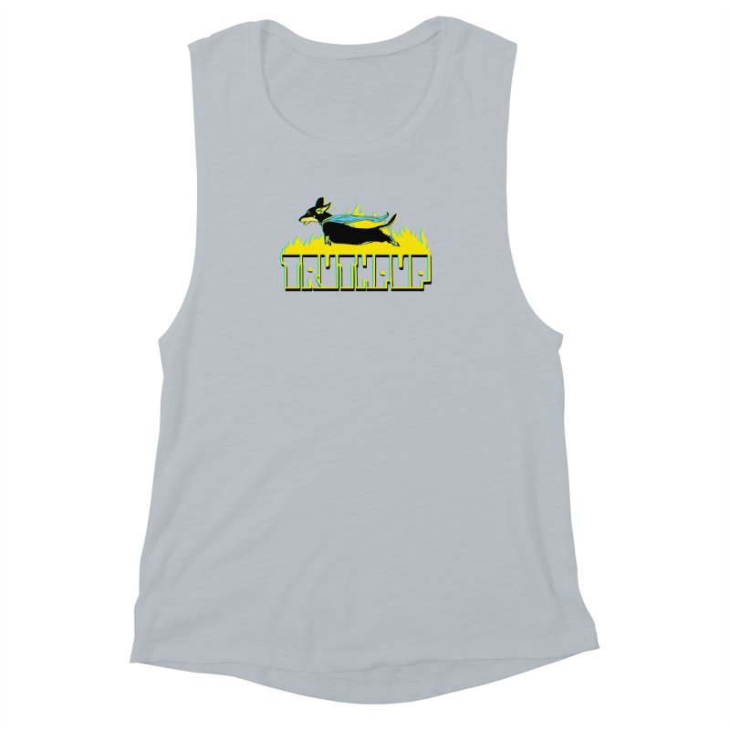 Truthpup Women's Muscle Tank by truthpup's Artist Shop