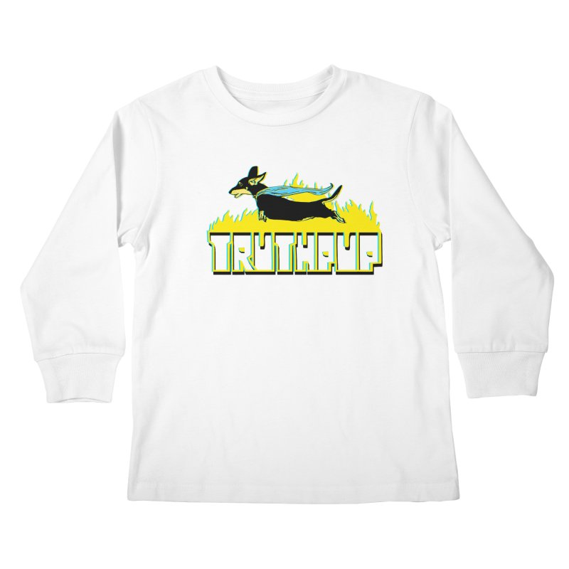 Truthpup Kids Longsleeve T-Shirt by truthpup's Artist Shop