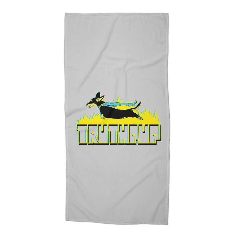 Truthpup Accessories Beach Towel by truthpup's Artist Shop