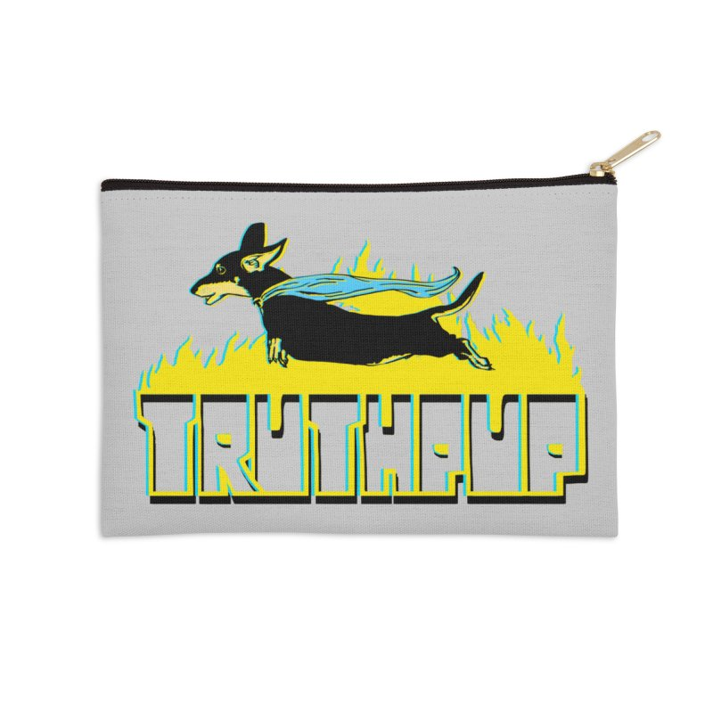 Truthpup Accessories Zip Pouch by truthpup's Artist Shop