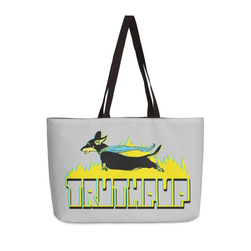 Truthpup Accessories Weekender Bag Bag by truthpup's Artist Shop
