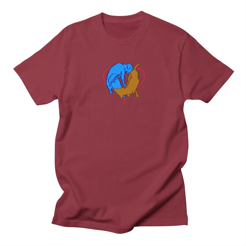 love at first sniff Men's T-Shirt by truthpup's Artist Shop