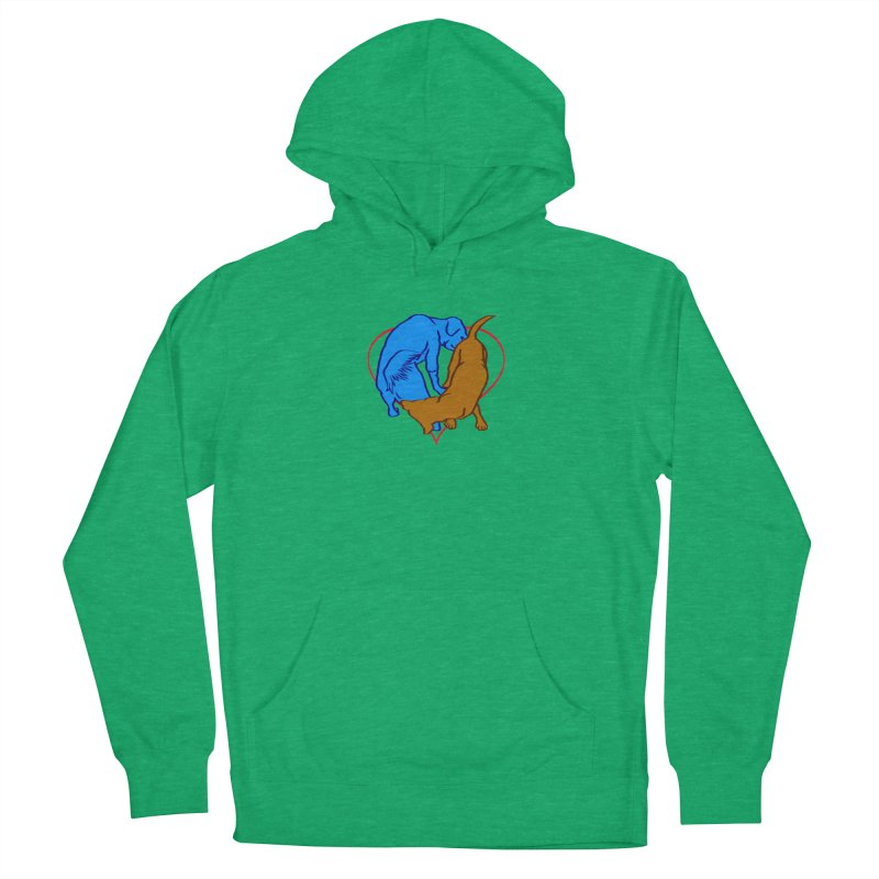 friends Women's French Terry Pullover Hoody by truthpup's Artist Shop