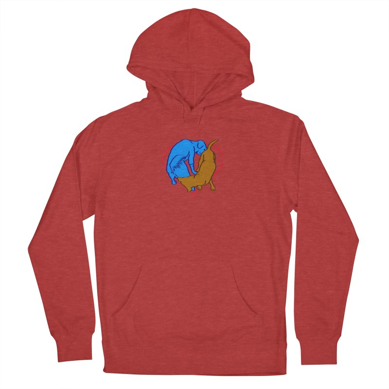 friends Men's French Terry Pullover Hoody by truthpup's Artist Shop