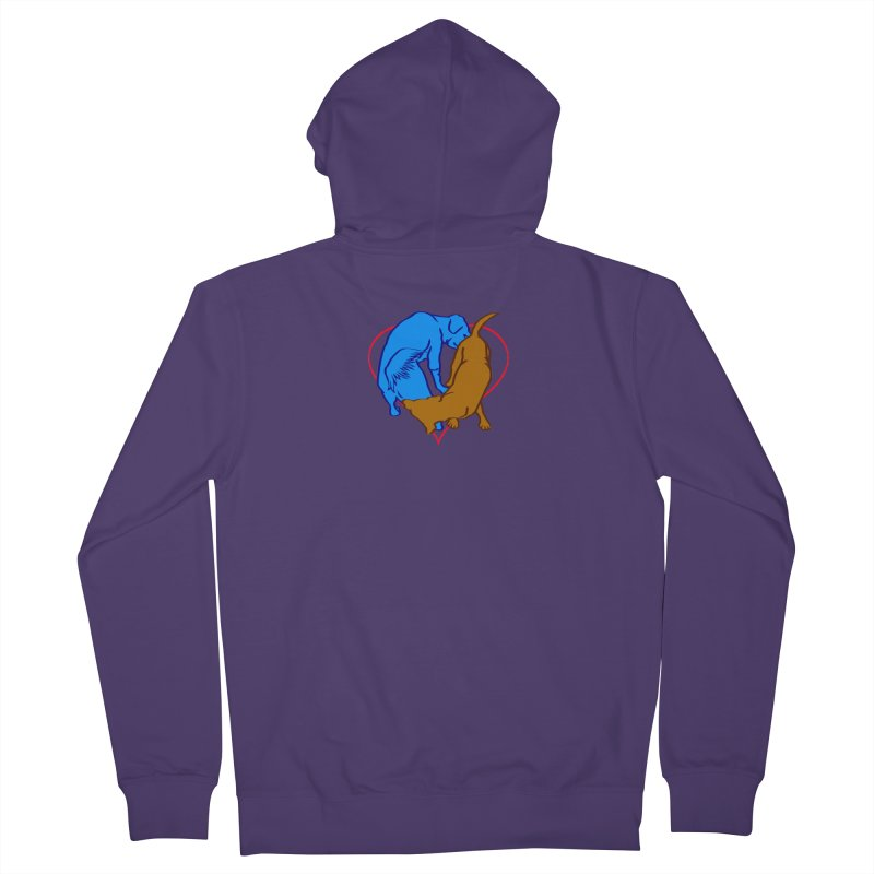 love at first sniff Women's French Terry Zip-Up Hoody by truthpup's Artist Shop