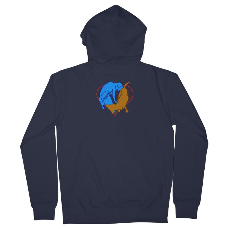 love at first... Men's Zip-Up Hoody by truthpup's Artist Shop