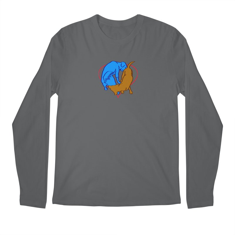 friends Men's Longsleeve T-Shirt by truthpup's Artist Shop