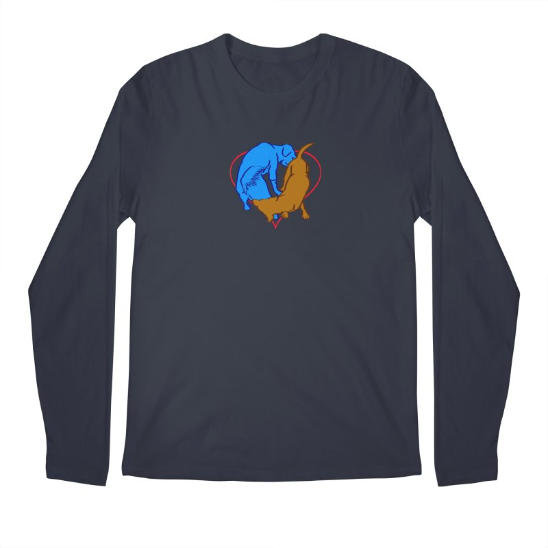 love at first... Men's Regular Longsleeve T-Shirt by truthpup's Artist Shop