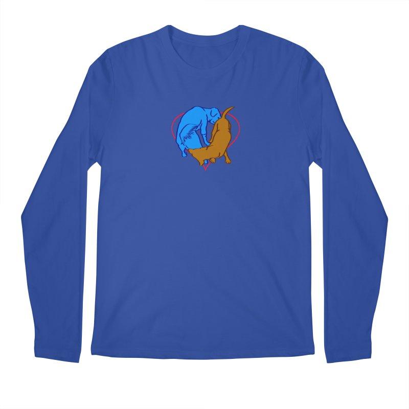 love at first... Men's Regular Longsleeve T-Shirt by truthpup's Artist Shop