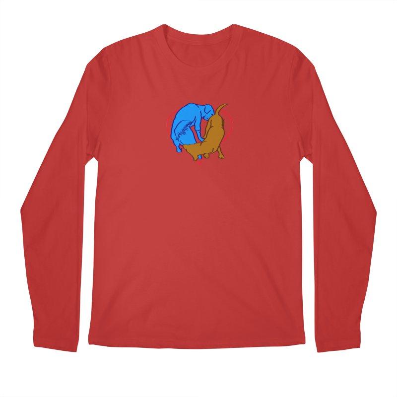 friends Men's Regular Longsleeve T-Shirt by truthpup's Artist Shop