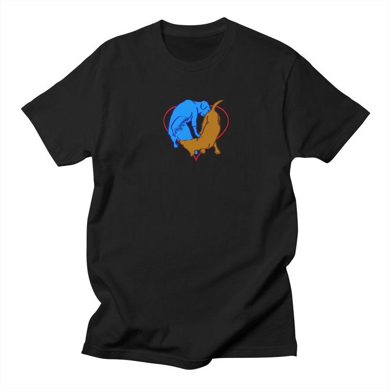 love at first... Men's Regular T-Shirt by truthpup's Artist Shop