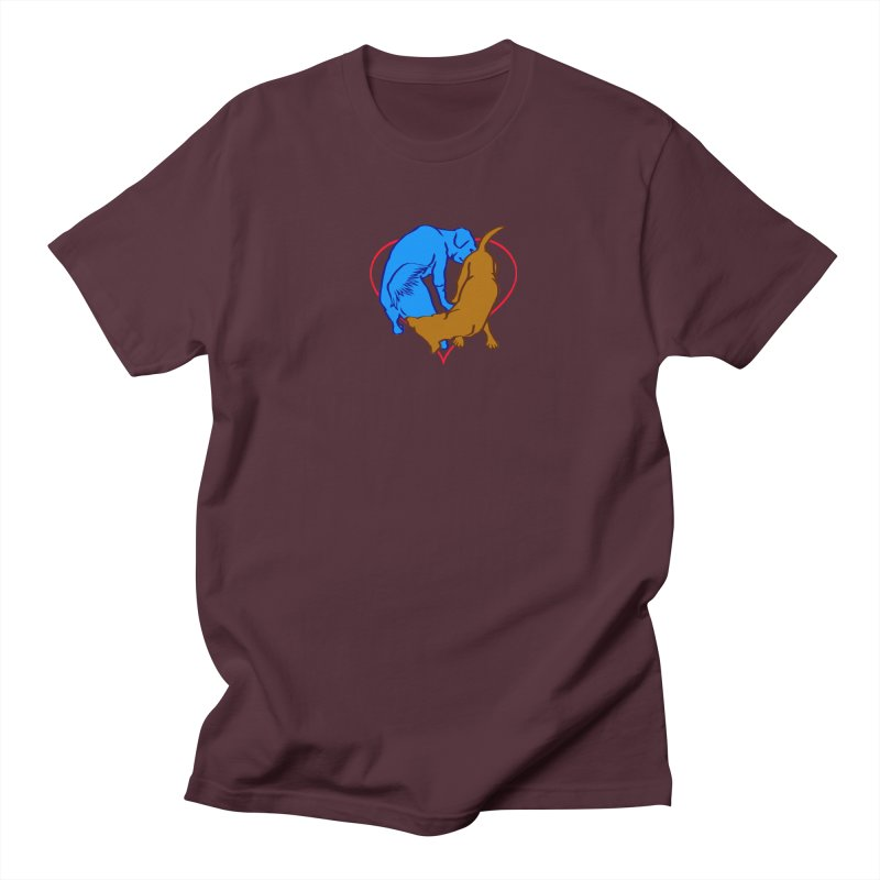 love at first... Men's T-Shirt by truthpup's Artist Shop