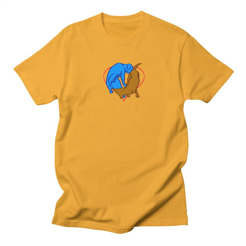 love at first sniff Women's Regular Unisex T-Shirt by truthpup's Artist Shop