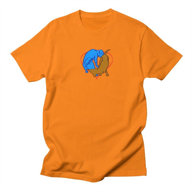 love at first sniff Men's Regular T-Shirt by truthpup's Artist Shop